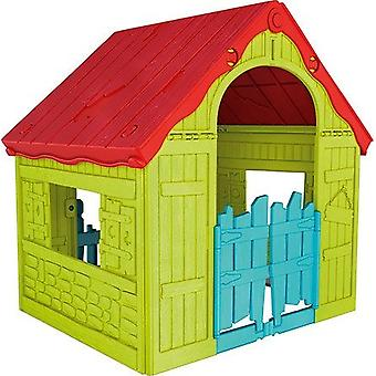 Gazebo de casa de jogo curver - 110.6x89.7x101.8 cm - dobrável