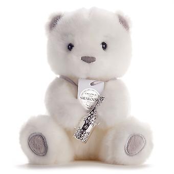 Chic & Love Medium Bailey -karhu Swarovski Crystal Celebration -pullon viehätys lahjalaatikossa