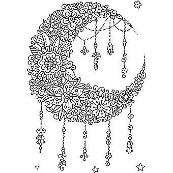 Sweet Dixie Stamp Set - Fantasy Floral Moon