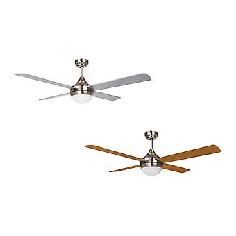 Ceiling fan BALOO Nickel with light  and remote