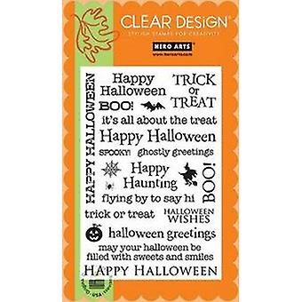 Hero Arts Clear Design: Happy Halloween Clear Stamp