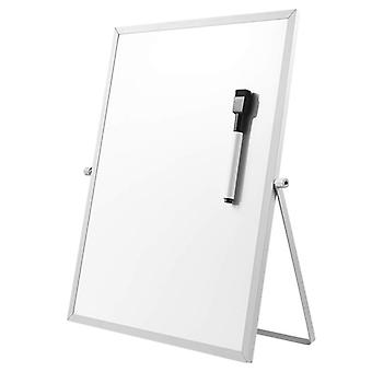 Magnetic Dry Erase Board With Stand For Desktop Double Sided White Board