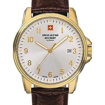 Mens Watch Sveitsisk Militær 7011.1512, Kvarts, 40mm, 10ATM