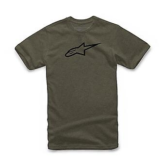 Alpinestars Men's Heather T-Shirt ~ Ageless II olive black