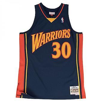 Mitchell e Ness Nba Golden State Warriors Steph Curry 2009-10 Maglia Swingman