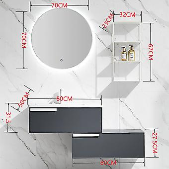 Light Luxury Rock Board Bathroom Cabinet Combination Modern Simple Toilet