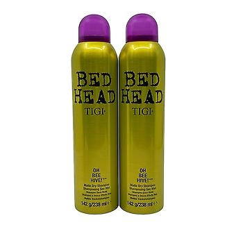 TIGI Bed Head Oh Bee Hive Matte Dry Shampoo 5 OZ Set of 2
