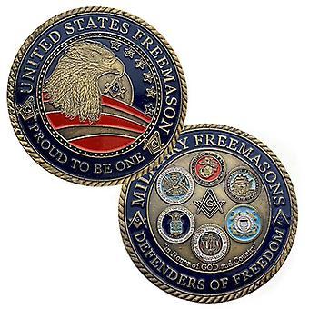 Us Armee Marine Luftwaffe Marine Corps Küstenwache Gedenkmünze