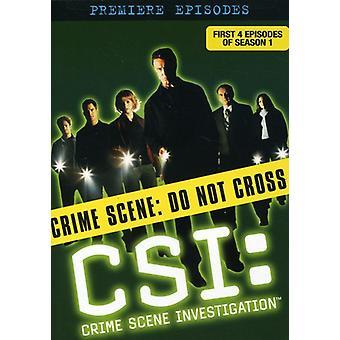 CSI: Seizoen 1-Disc 1 [DVD] USA importeren