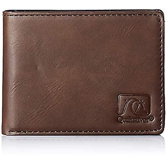 Quiksilver Travel accessory: bi-fold wallet, M, CHOCOLATE BROWN