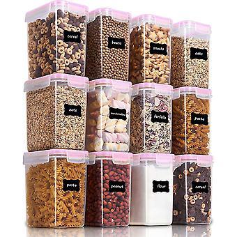 FengChun 1.6L Vorratsdosen Set, Msli Schttdose Frischhaltedosen, BPA frei Kunststoff Vorratsdosen