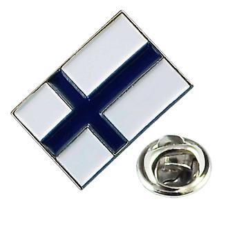 Δεσμοί Πλανήτης Φινλανδία Σημαία πέτο Καρφίτσα Σήμα