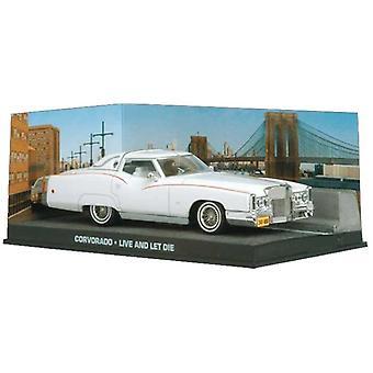 Cadillac Eldorado Diecast modell bil från James Bond Leva och låta dö