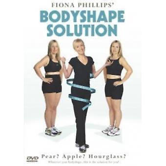 Fiona Phillips Bodyshape Solution DVD