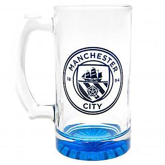Manchester City FC Stein Glass Tankard