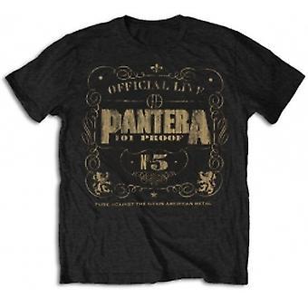 Pantera 101 Proof Mens T Shirt: Small