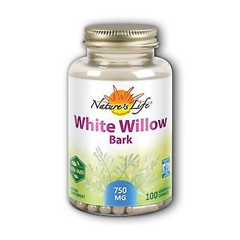 Nature's Life White Willow Bark, 100 Caps