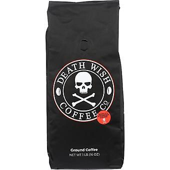 Death Wish Coffee Coffee Grnd 16Oz Bg, Case of 6 X 1 lb
