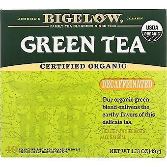 Bigelow Tea Decaf Grn Org 40Bg, Case of 6 X 1.73 Oz