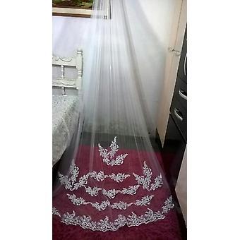 اكسسوارات الزفاف، تول كاتدرائية طويلة الحجاب الزفاف