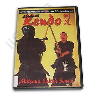 Kendo japonais avancé Dvd Akitsuna Saitoh -Vd6604A