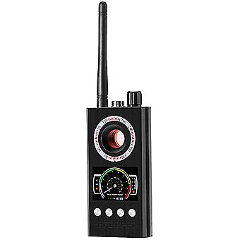 GPS مكافحة التجسس كاشف علة كاشف الصوت اللاسلكي كاميرا الكاميرا الخفية RF كاشفات الكاميرا الخفية كاشف الخصوصية حامي لتتبع كاميرا GPS (أسود)