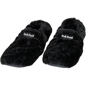 Hot Feet, Heating Slippers - Black