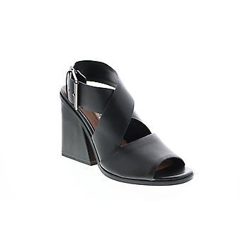 BCBG Max Azria Adult Womens Sara Dress Calf Leather Strap Heels