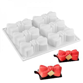 Silicone Molds For Mousse, Dessert, Bow Tie Tray, Cake Decorating, Non Sticky Chocolate Baking