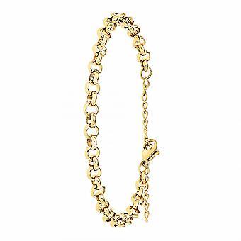 Bracelet Femme Ang�le M - B2379-DORE Acier Dor�