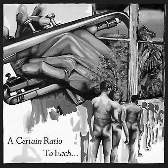 A Certain Ratio - To Each... Vinyl