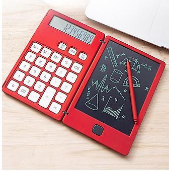 Tablette d'écriture LCD avec calculatrice - dessin numérique Pad d'écriture électronique