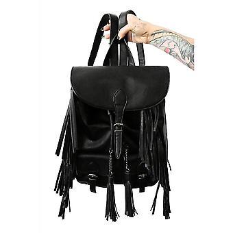 Foxblood VIP Fringe Backpack