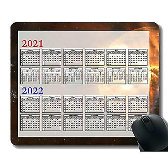 Keyboard mouse wrist rests 300x250x3 2021 2022 year calendar gaming mouse pads space montage voyager images spacecraft