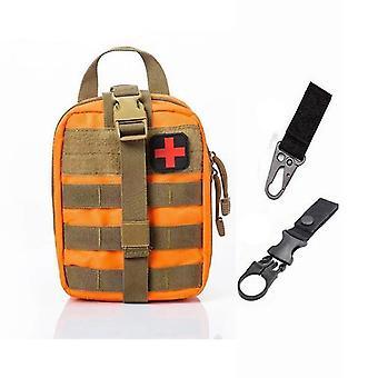 Sistema Molle táctico de primeros auxilios bolsa médica para emergencia (A-o Bag And 2 Hook)