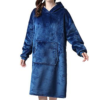 Mile Women's Dressing Gown Mens Hooded Bathrobe - Offers A Great Combination Between Quality And Comfort - Great Gift