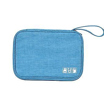 Datakabel opslag tas, draagbare opslag, reistas, draagbare tas, waterdichte digitale elektronische tas