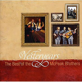 McPeak Brothers - Yesteryears: The Best of the McPeak Brothers [CD] USA import