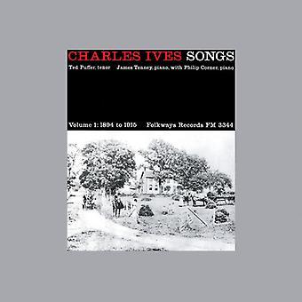 Ted Puffer - Charles Ives: Importación de Estados Unidos canciones, Vol. 1, 1894-1915 [CD]