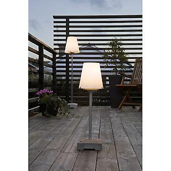 Konstsmide Lucca Patio Table Lamp With Opal Shade