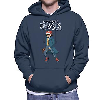 Fantastic Beasts Ash Pokemon Men's Hooded Sweatshirt