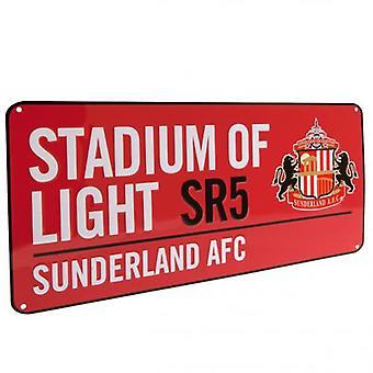 Sunderland Street Sign RD