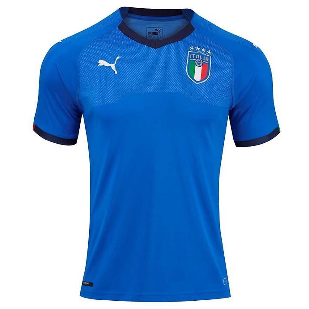 2018-2019 Italia hjem Puma fotball skjorte