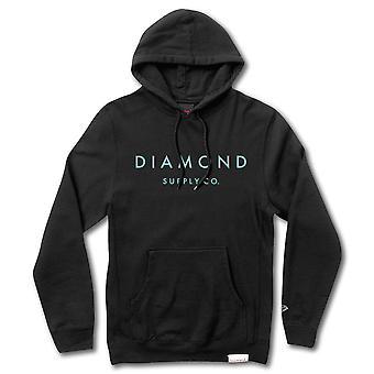 Diamond Supply Co Stone Cut Pullover Hoodie Black