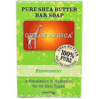 Out of Africa Pure Shea Butter Bar Soap Peppermint
