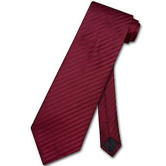 Vesuvio Napoli necktie proužkované svislé pruhy design muži ' s krční kravatou