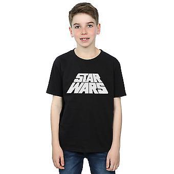 Star Wars jungen Retro-Logo T-Shirt
