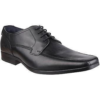 Pohja London miesten Lytham Excel nauhakiinnitys nahka Oxford Darby Dress Shoes