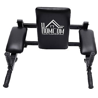 Homcom Wall Mounted Dip Fitness Exercise Workout Bars