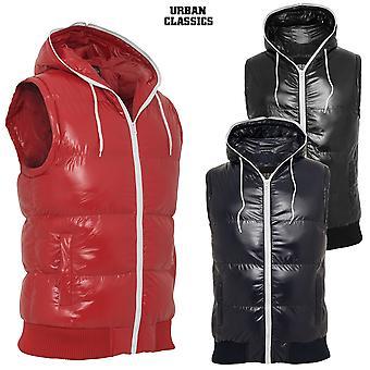 Urban classics hooded bubble vest